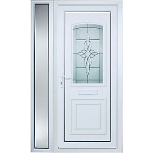 Wickes Medway Pre-Hung uPVC Door 2085x1220mm Left Opening