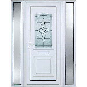 Wickes Medway Pre-Hung uPVC Door 2085x1520mm Left Opening