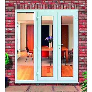 Wickes Upvc French Doors 7ft with 1 Side Panel 600mm