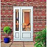 Wickes uPVC Offset Panelled French Door 4ft With 1 Demi Panel 300mm