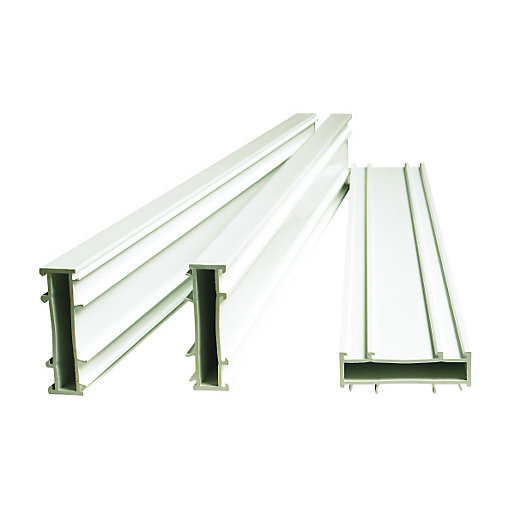 Wickes PVCu Frame Extender Pack White 20x1850mm