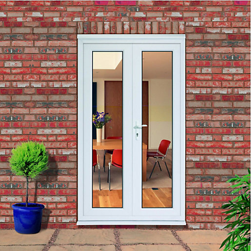 wickes upvc french doors 4ft inward opening For4ft French Doors Exterior