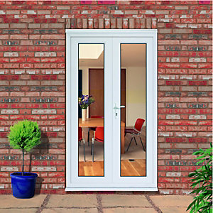 Pvcu french doors exterior french doors doors windows - How wide are exterior french doors ...