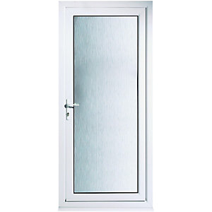 Wickes Humber Pre-Hung uPVC Door 2085x840mm Right Opening