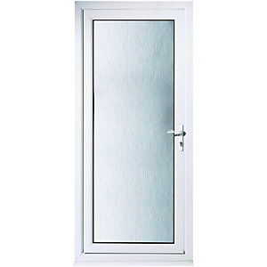 Wickes Humber Pre-hung Upvc Door 2085 x 840mm Left Hand Hung