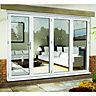 Wickes uPVC External Folding & Sliding Patio Door White 10ft Wide Right Opening