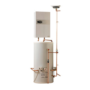 Electric Heating Company Eclipse CPSIECL9/180 Electric Boiler Complete With Indirect Cylinder 9KW 180L