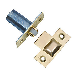 4Trade Roller Catch Adjustable Electro Brass