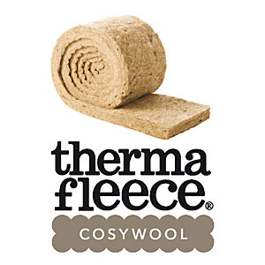Thermafleece Cosywool 75mm Natural Sheeps Wool Insulation 370mm Split