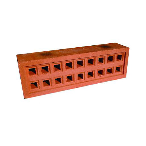 Wickes Square Hole Clay Airbrick 215x65mm Wickes Co Uk