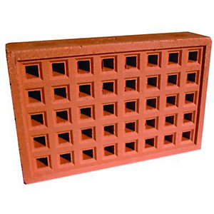 Wickes Square Hole Clay Airbrick 215x140mm