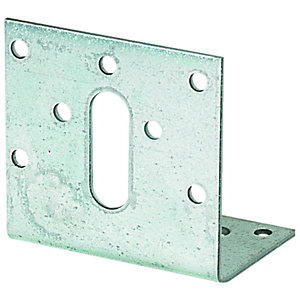 Wickes Galvansied Angle Bracket 150x90x59mm