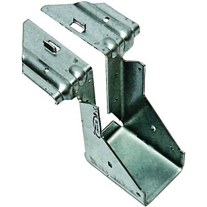 Wickes Galvanised Joist Hanger 50x125mm