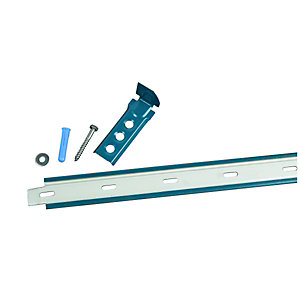 Wickes Galvanised Steel Wall Starter 1165mm Pack 2