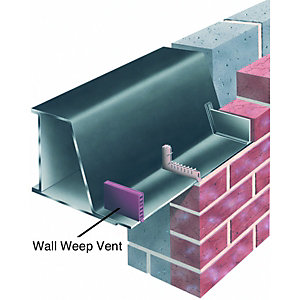 Wickes Wall Weep Vent 10x65mm