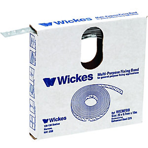 Wickes Multi Purpose Builders Fixing Band 20mmx10m
