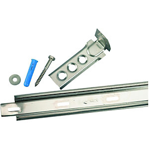 Wickes Stainless Steel Wall Starter 1165mm Pack 2