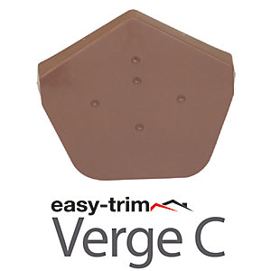 Easy Ridge F Ridge Cap Angled Brown