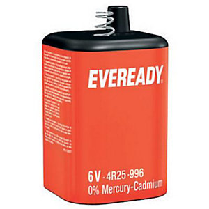 Energizer PJ996 Eveready Lantern Battery 6V