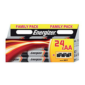 Energizer Classic Batteries AA Pack 24
