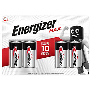 Energizer C4 Alkaline Battery Pack