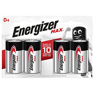 Energizer D4 Alkaline Battery Pack