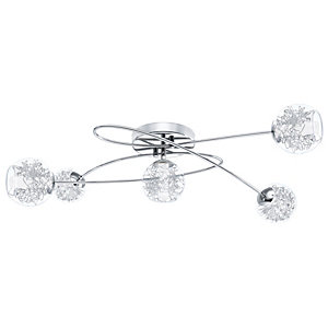 Eglo Altone Decorative Twirl Light Chrome