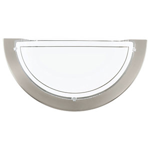 Image of Eglo Planet Wall Light Brushed Chrome