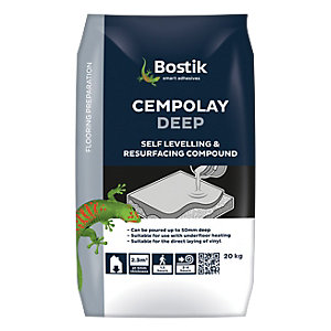 Bostik Deep Base Self Levelling Floor Compound 20kg