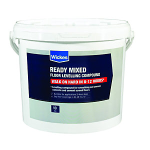 Wickes Ready Mixed Self Levelling Floor Compound 10L