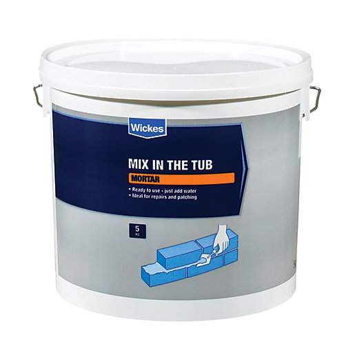 Wickes Mix In The Tub Mortar 5kg