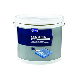 Wickes Rapid Setting Cement 5kg