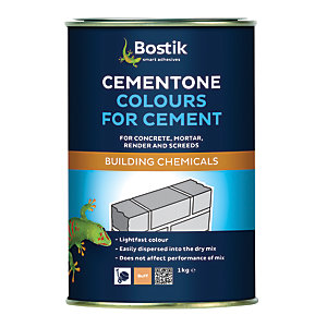 Wickes Cement Dye Buff 1kg