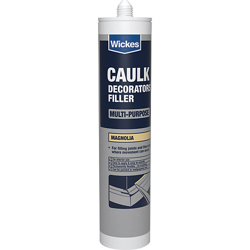 Wickes Decorators Caulk Magnolia 310ml