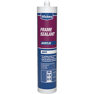 Wickes Frame Acrylic Sealant White 310ml