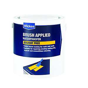 Wickes Brush Applied Solvent Free Waterproofer 2.5L