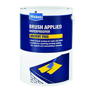 Wickes Brush Applied Solvent Free Waterproofer 5L