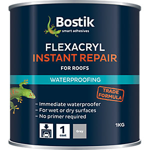 Cementone Flexacryl Grey Instant Roof Repair 1kg