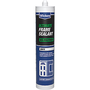 Wickes Ultimate Frame Sealant White 310ml
