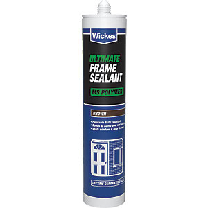 Wickes Ultimate Frame Sealant Brown 310ml