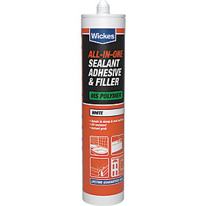 Wickes All in 1 Sealant Adhesive & Filler 310ml