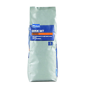 Wickes Quick Set Mortar 2kg