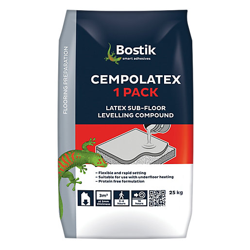 Bostik Cempolatex Floor Levelling Compound 25kg