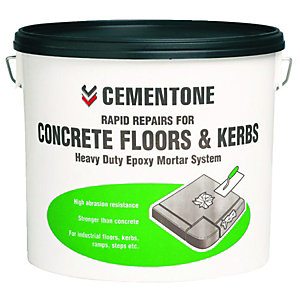 Cementone Rapid Repair Heavy Duty Epoxy Mortar For Floors & Kerbs 5Kg