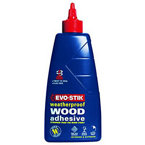 Evo-Stik Resin W Weatherproof Wood Adhesive 250ml