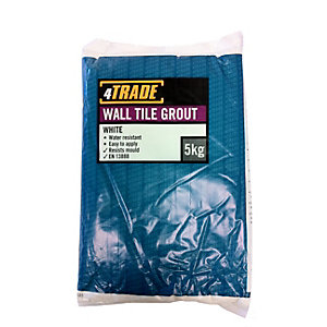4Trade Wall Tile Grout White 5kg