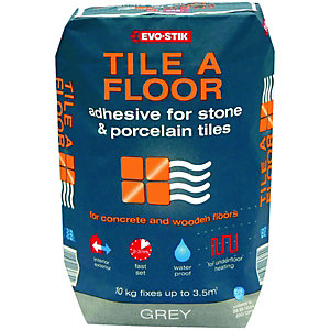 Evo-stik Tile A Floor Adhesive for Stone & Porcelain 10kg