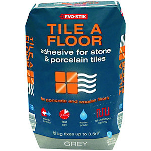 Evo-Stik Tile A Floor Adhesive For Stone & Porcelain 20Kg