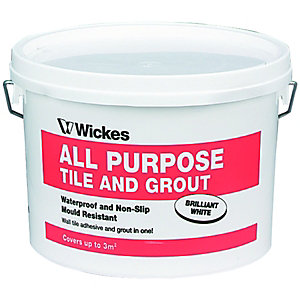 All Purpose Tile & Grout Adhesive 2.5L