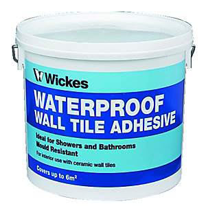 Wickes Waterproof Wall Tile Adhesive 5L